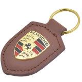 2017 het Hete Leer Van uitstekende kwaliteit Keychain van de Verkoop voor de Reclame van Giften (yB-k-027)