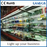 Accensione le merci della mensola e del Governo e dell'indicatore luminoso di illuminazione T8 del tubo di prezzi 12V/24V LED