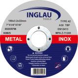 """7 """" dischi legati di taglio della resina per metallo"""