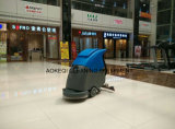 Manual caminar detrás de la máquina de limpieza de cerámica Limpiasuelos pelo