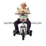 Drei Räder, die elektrischen Mobilitäts-Roller mit Cer falten