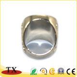 Anillo embutido del anillo de dedo del metal de la joyería de la manera para los regalos