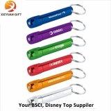 Ricordo 2015 della plastica LED Keychain di Pockt di promozione fatto in Cina