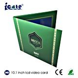 Карточка LCD 10.1 дюймов видео- с упаковкой подарка