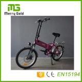 Le pliage Ebikes PETIT E vélos 36V 250W E bicyclettes pliables Type mini vélos électriques pour dame