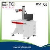 Máquina aprobada de la marca del laser de /CO2 de la fibra 10W del Ce caliente de la venta