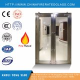 Bâti ignifuge en verre Doors+Steel