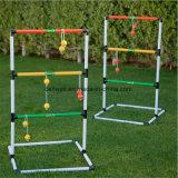 O jogo do lance da escada do jardim ajustou-se com as 6 esferas de golfe e caso carreg