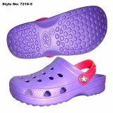 Homme de couleur violet doux de sabots, design classique EVA Chaussures Sabots
