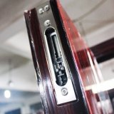 Puertas de caoba de la puerta de acero de seguridad