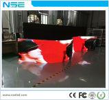 Tenda flessibile dell'interno di P4 LED/delicatamente schermo del LED/indicatore luminoso molle flessibile dell'interno locativo della fase di Shenzhen della visualizzazione di LED