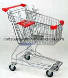 62 des asiatischen Art-Supermarkt-Liter Einkaufswagen-, kaufenlaufkatze