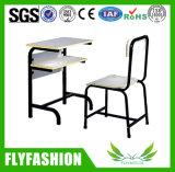Madera mobiliario escolar solo escritorio y silla (SF-65S)
