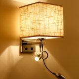 Свет стены ухода за больным китайского утюга гостиницы поставщика материальный