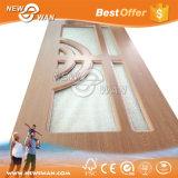 Porte en bois intérieure de PVC de forces de défense principale de chambre à coucher
