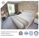 Het elegante Meubilair van de Slaapkamer van het Hotel met Houten Leverende Reeks (yb-D-40)