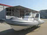 Barco inflable rígido de la fibra de vidrio de la costilla los 5.2m de Liya China
