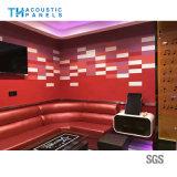 Teto acústico decorativo interior amigável da fibra de poliéster de Eco para KTV