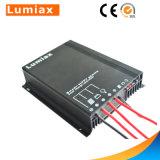 controlador 20A cobrando solar para o módulo solar
