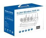cámara sin hilos del CCTV del IP del sistema de seguridad del kit de 4CH WiFi NVR