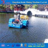 Barca di taglio e di pulizia del giacinto di acqua