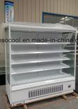 Vertikaler Supermaket geöffneter Bildschirmanzeige-Kühlraum für Getränkebildschirmanzeige