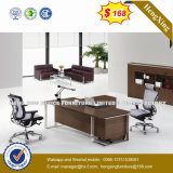 Fashion Metal Leg Design Wooden CEO Executive Office Desk (HX-NT3218)