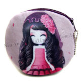 Heißer verkaufenkarikatur-Puppe-Fonds-Mädchen-Entwurfs-Miniplüsch-Mappen-Karten-Kasten-Frauen-Münzen-Beutel