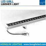 屋外の景色の照明Intiground IP65 18W RGB LEDの壁の洗濯機