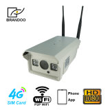 1080P 통신망 WiFi 4G Lte 옥외 무선 옥외 IP 사진기