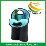 Sacs d'emballage de refroidisseur de vin du néoprène de 2 paquets avec le traitement de transport