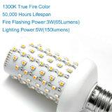 Lámpara de pared de la luz de la llama del efecto de fuego LED
