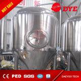 El tanque cónico de la fermentadora de la cerveza del acero inoxidable del Hogar-Brew