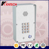 Vandale Doorphone résistant du téléphone Knzd-43 d'intercom de contrôle d'accès