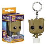 Persona Groot Keychain del árbol del Raccoon/de Rocket de la estrella de la galaxia Convoy2/de Hotsale
