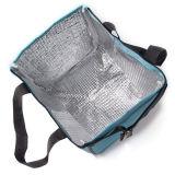 Piscina de poliéster resistente al agua enfriador de aluminio de Picnic Tote Bag