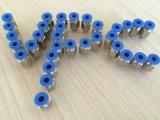 Connettori pneumatici del De PVC PARA Aire del connettore del PVC di Cruceta del sindacato