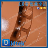 Didtekのギヤによって作動させるかいま見のシートの倍のブロックおよび裁ち切り球弁