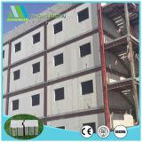 El panel de pared exterior de emparedado de la espuma de poliuretano para la casa prefabricada
