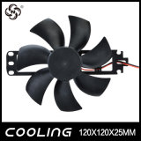 ventilator de Zonder bladen van 120X120X25mm, Ventilator 120mm, Elektrische Ventilator 12025, de Ventilator van het Kooktoestel van gelijkstroom 12V/18V van de Pot van de Thee van de Ijskast