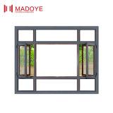 Finestra di alluminio della stoffa per tendine del tetto dell'arco con il vetro dello specchio (M-CW-108)