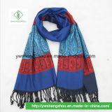 Hot Sale Népal Style Jacquard de noix de cajou foulard Pashmina châle de mode