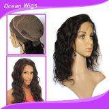 парик фронта шнурка волос Remy девственницы объемной волны 10inch камбоджийский