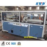 El transporte y de la máquina cortadora para PVC PE PPR PP