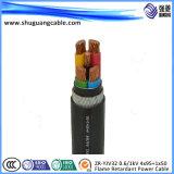 Мв/XLPE изоляцией/толстая стальная проволока бронированные/PVC пламенно/электрического кабеля питания