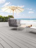 De natuurlijke Houten Plastic Samengestelde Vloer WPC Decking van de Kleur voor Tuin
