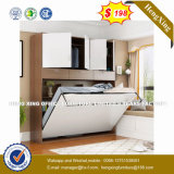 最も売れ行きの良いハードウェア柔らかいLeather 折る壁のベッド(HX-8NR1005)