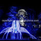 Grande fonte de LED de cor branca decoração exterior