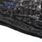Tessuto naturale indiano poco costoso dei capelli umani del Virgin dell'onda di prezzi bassi