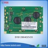 Pantalla gráfica LCD industriales con la STN azul/amarillo verde